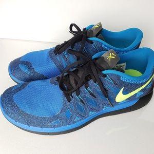 Nike Free Run 5.0 HyperCobalt/Volt/Anthracite #14
